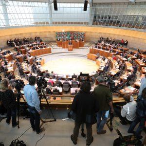 Landtag NRW Plenarsaal Plenarsitzung