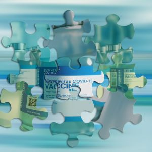 Puzzleteile, Impfstoff
