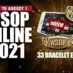 WSOP 2021 Online-Turnierplan für US-Spieler veröffentlicht