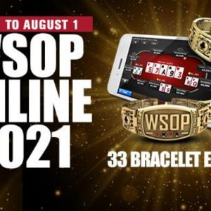 WSOP online 2021 Logo