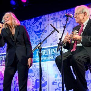 Warren Buffet und Glenn Close