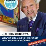 """Glücksspiel-Konzern Gauselmann startet """"Merkur impft"""" Aktion"""