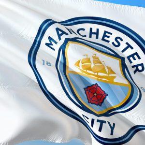 Manchester City Fahne