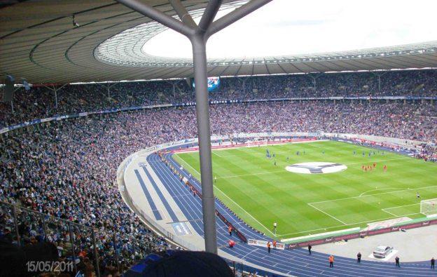 Fußball Berlin Olympiastadion