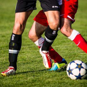 Fußball Spieler Beine