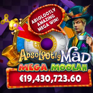 Mega Moolah Absolootly Mad Jackpot Slot