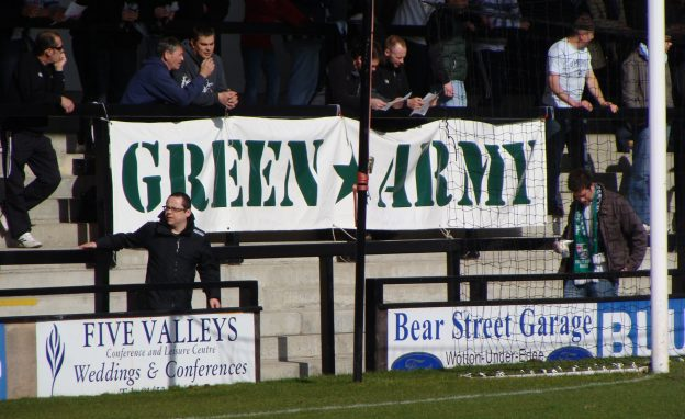 Forest Green Rovers Green Army Banner