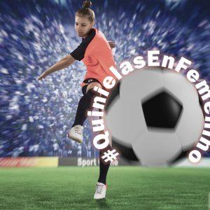 Frau beim Fußball, La Quiniela, Kampagne