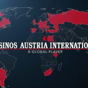 Casinos Austria International Global Player Weltkarte