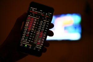 Handy, Smartphone, Trading, Trading-App