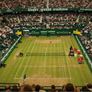 Tennis-Turnier Halle Stadion