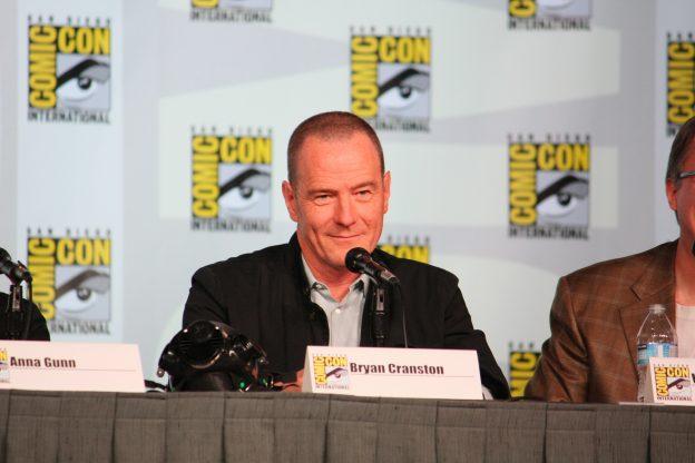 Bryan Cranston Podium Comic Con
