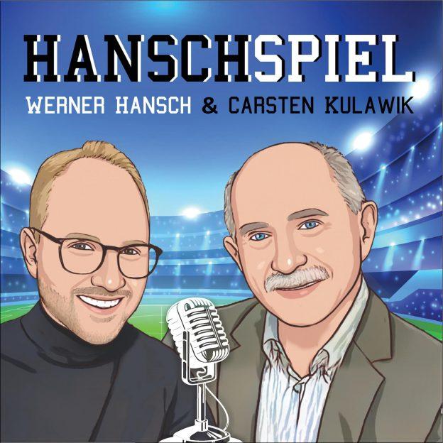 Titelbild HANSCHSPIEL, zwei Männer, Microphon