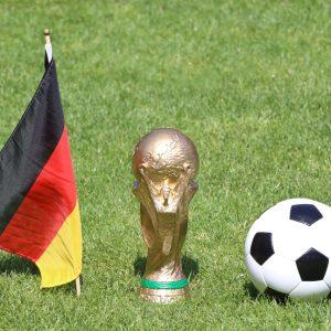 Deutschland Flagge Pokal Fußball