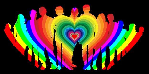 Regenbogen, Familie, Paare