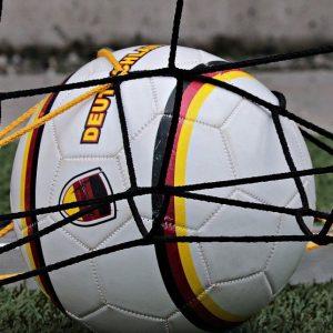 Ball mit Deutschland-Logo