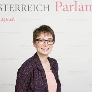 Politikerin Sigrid Maurer