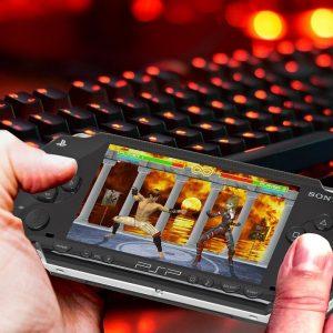 PSP, Finger, Tastatur