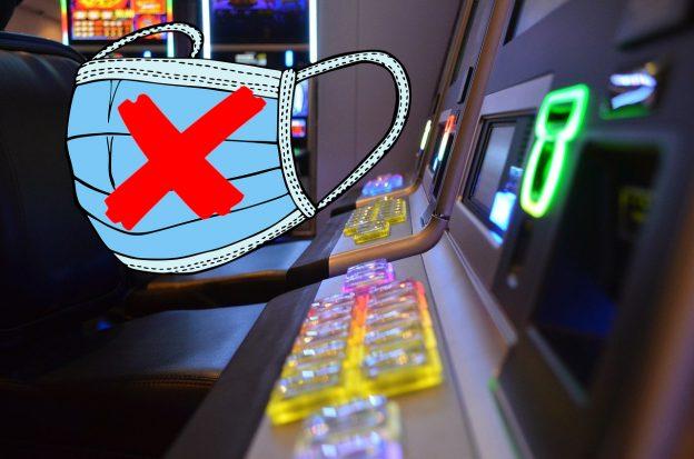 Spielautomat Maske Kreuz