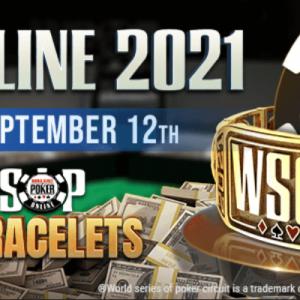 GGPoker schedule WSOP 2021 online