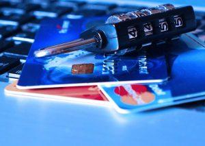 Kreditkarten, Schloss, Tastatur