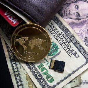 Kryptowährung, Geld, Portemonnaie
