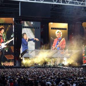 Rolling Stones auf er Bühne