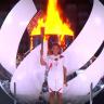Naomi Osaka, Feuer, Fackel