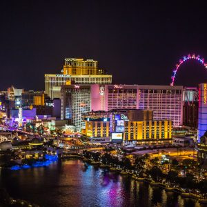 Las Vegas Skyline Nacht