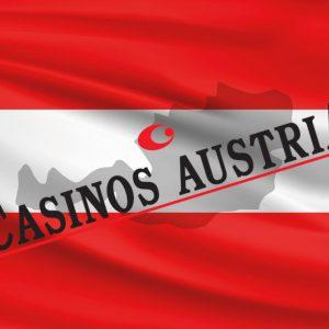 Flagge Umriss Österreich Casinos Austria