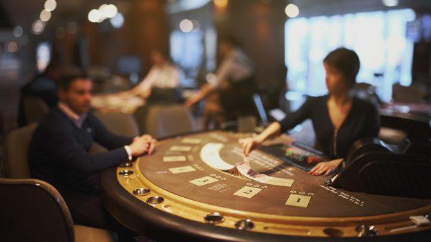 Spieltisch Dealer Blackjack