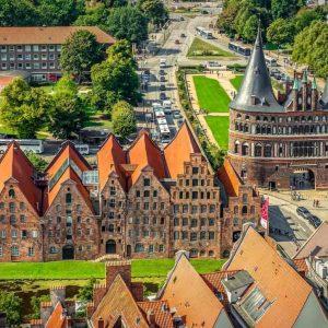 Lübeck Holstentor Schleswig-Holstein