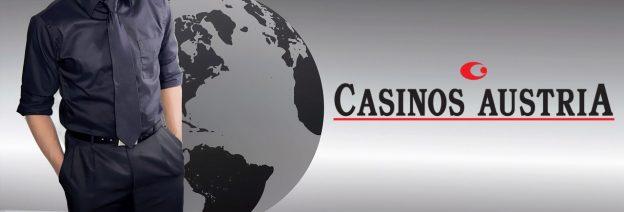 Mann, Globus, Casinos Austria Logo