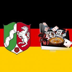 Deutschland Flagge NRW Wappen Online Glücksspiel