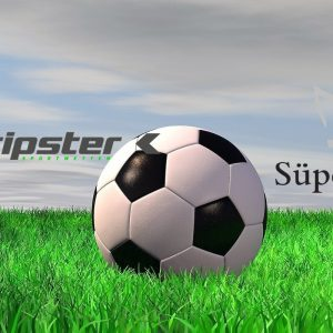 Fußball, Rasen, Tipster Logo, Süper Lig Logo