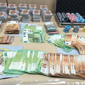 Geld Spielchips Karten