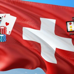 Fahne Schweiz Karten Chips Slot
