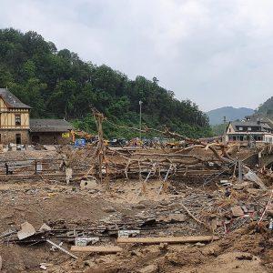 Altenahr nach dem Hochwasser 2021