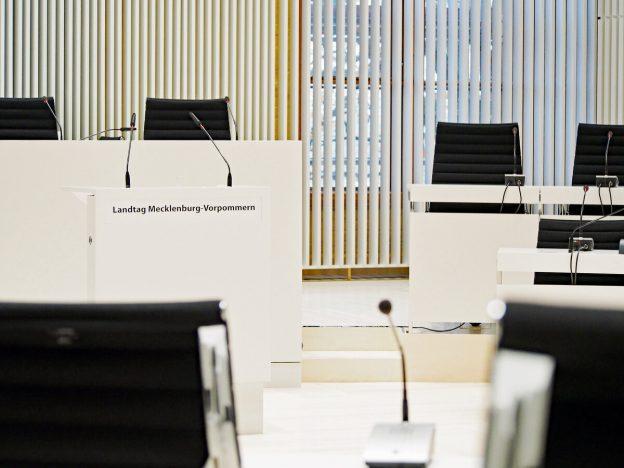 Plenarsaal Mecklenburg-Vorpommern