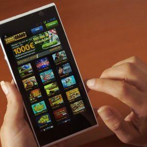 Online Slot Online Spielautomat Mobile Casino Smartphone
