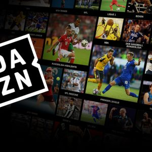 DAZN Logo Sport-TV