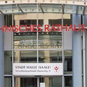 Technisches Rathaus Halle