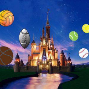 Disney-Schloss Sport Bälle