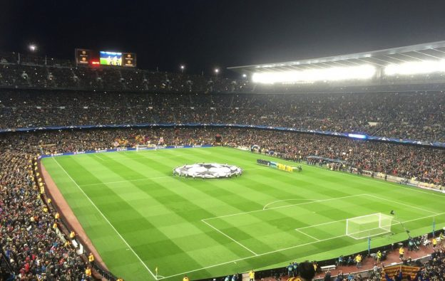 Fußball Stadion Spiel